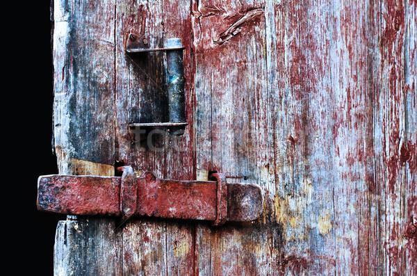 двери Vintage древесины фон Сток-фото © vadimmmus
