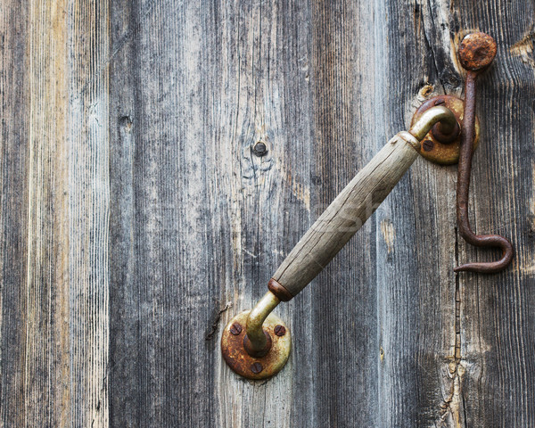 Old door knob Stock photo © vadimmmus