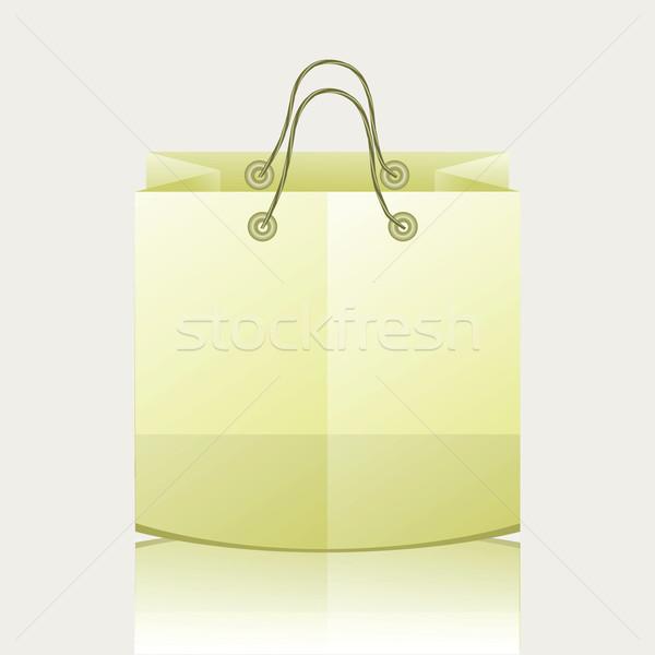 Papel bolsa de compras colorido ilustração internet fundo Foto stock © Valeo5