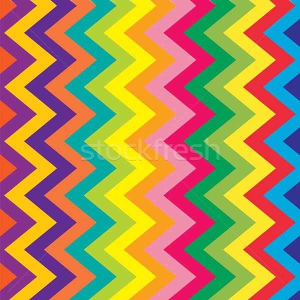 Renkli süs Retro dekoratif renkli kumaş Stok fotoğraf © Valeo5