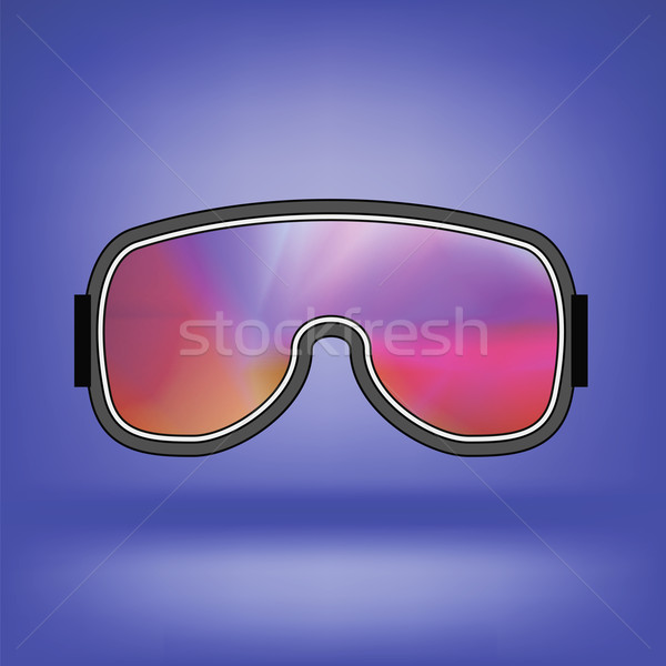 Ski Goggle with Colorful Glasses Stock photo © Valeo5