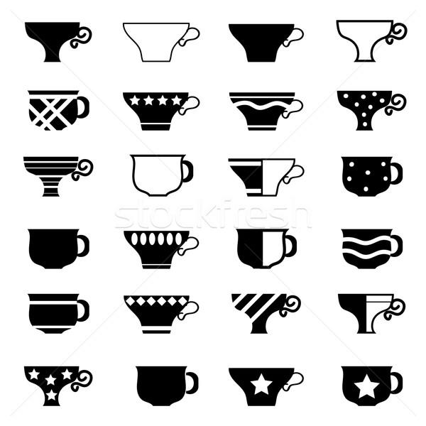 Set of Cups Stock photo © Valeo5