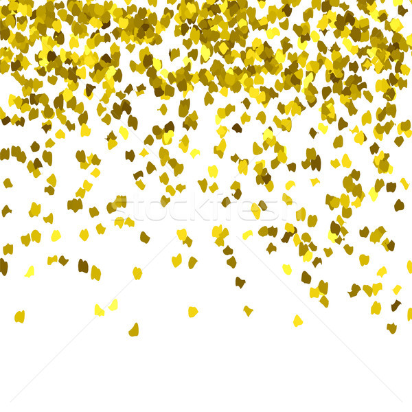 Gold Confetti Pattern Stock photo © Valeo5
