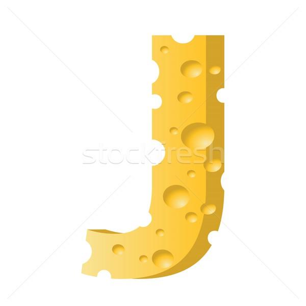Käse Schreiben farbenreich Illustration Textur Essen Stock foto © Valeo5