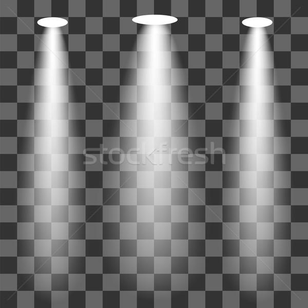 набор изолированный вечеринка аннотация свет Сток-фото © Valeo5