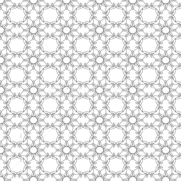 декоративный текстуры белый аннотация геометрическим рисунком обои Сток-фото © Valeo5