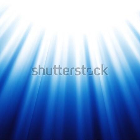 Blauw abstract kleurrijk illustratie computer kleuren Stockfoto © Valeo5