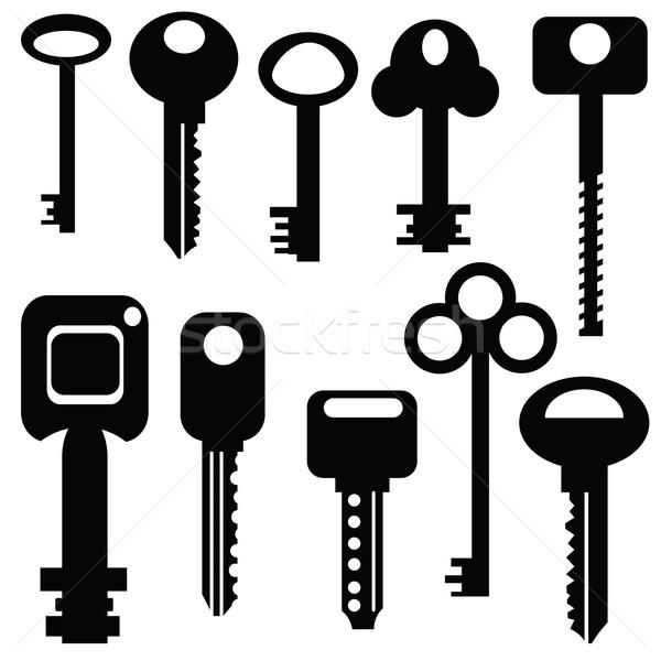 Collection of keys Stock photo © Valeo5