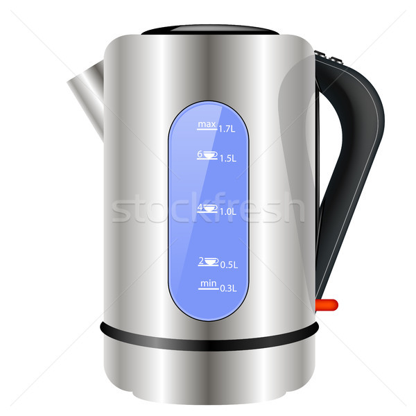Modern Electric Kettle Icon Stock photo © Valeo5