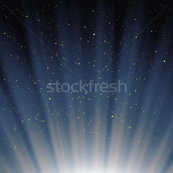 Blue Sky синий магия небе волна Сток-фото © Valeo5