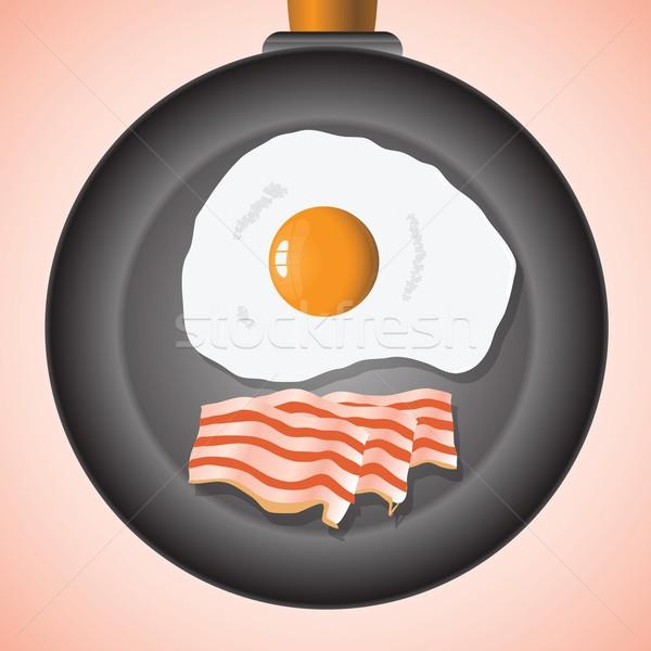 eggs and bacon Stock photo © Valeo5