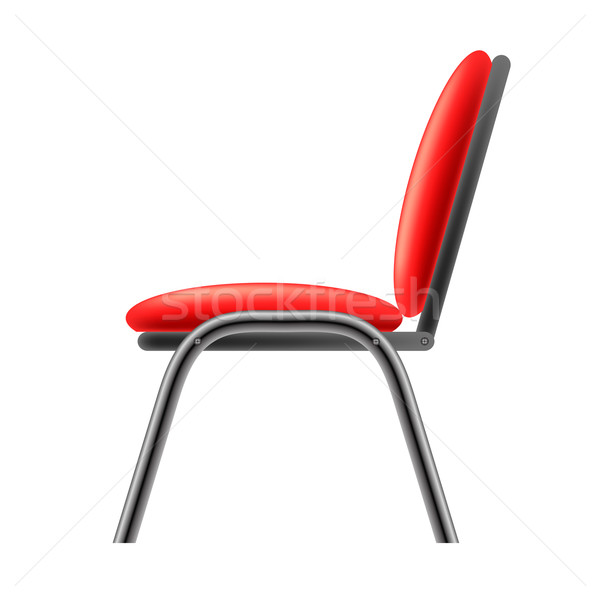 Single Red Office Chair Stock photo © Valeo5