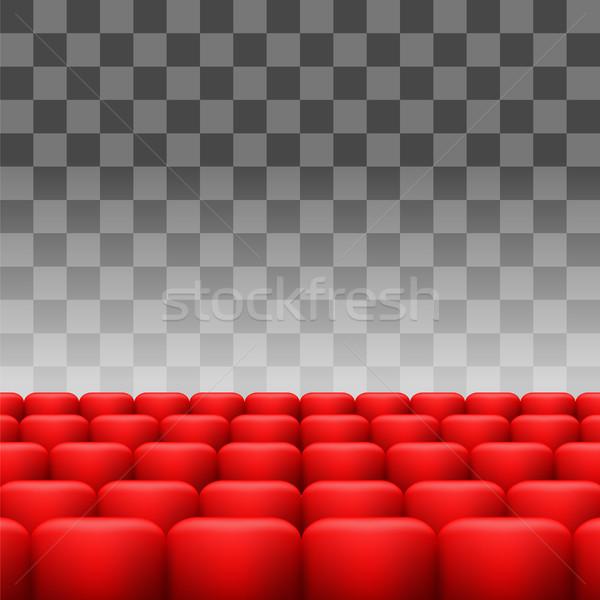 красный набор роскошь изолированный фильма Сток-фото © Valeo5