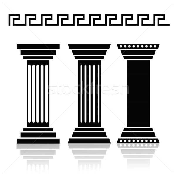 ancient columns Stock photo © Valeo5