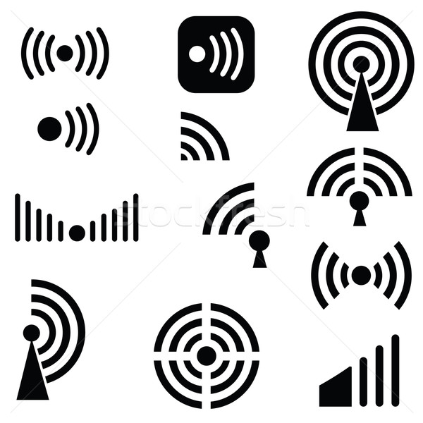 Radio waves Stock photo © Valeo5