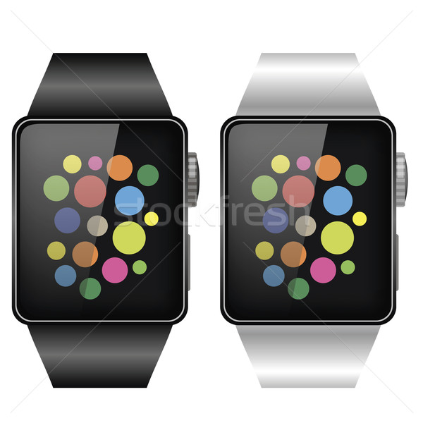 Two Smart Watches Stock photo © Valeo5