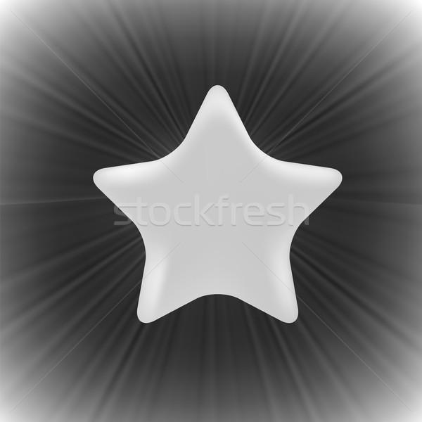 Gri star karanlık dalga parti dizayn Stok fotoğraf © Valeo5