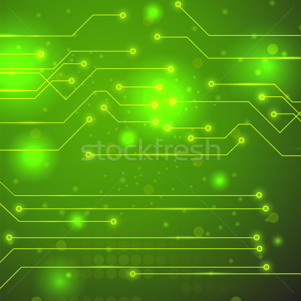 High Tech Printed Circuit Board Stock photo © Valeo5