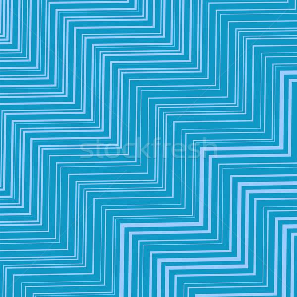 Geometrica modello onda decorativo texture arte Foto d'archivio © Valeo5