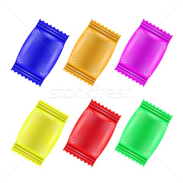 Set of Colorful Candies Stock photo © Valeo5