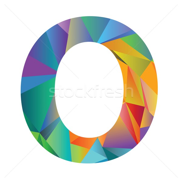 letter of different colors Stock photo © Valeo5