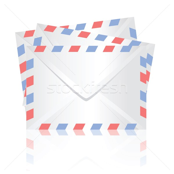 Weiß farbenreich Illustration Business Internet Hintergrund Stock foto © Valeo5