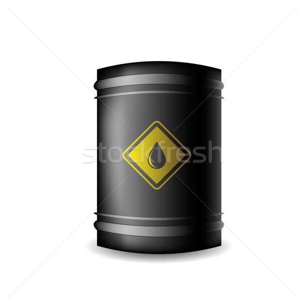 Metal Oil Barrel Stock photo © Valeo5