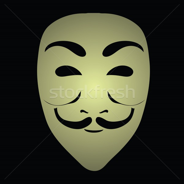 anonymous mask Stock photo © Valeo5