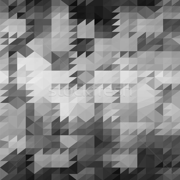 аннотация серый треугольник шаблон геометрический Сток-фото © Valeo5