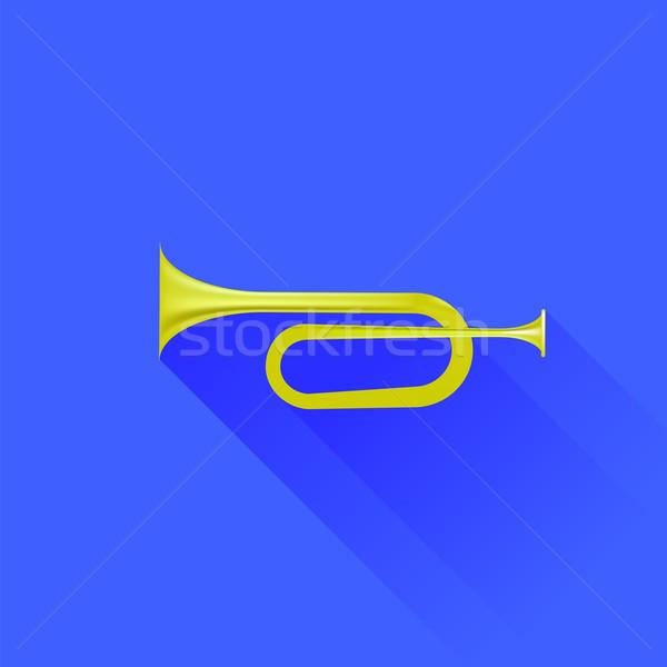 Metallic Horn Stock photo © Valeo5