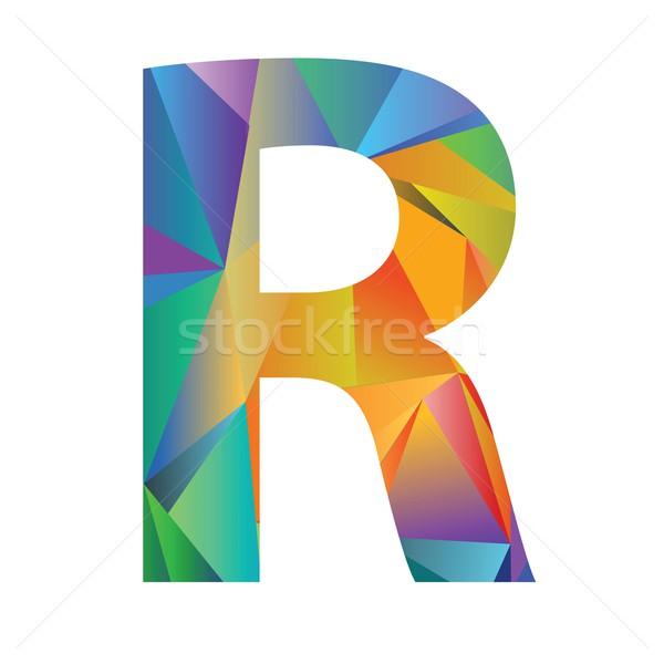 Schreiben unterschiedlich Farben Illustration weiß Hintergrund Stock foto © Valeo5