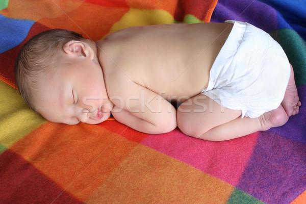 Newborn baby Stock photo © vanessavr