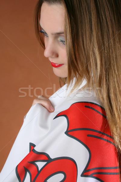 Welsh Girl Stock photo © vanessavr