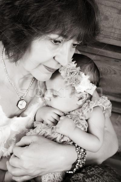 Grandmother and Grandaughter Stock photo © vanessavr