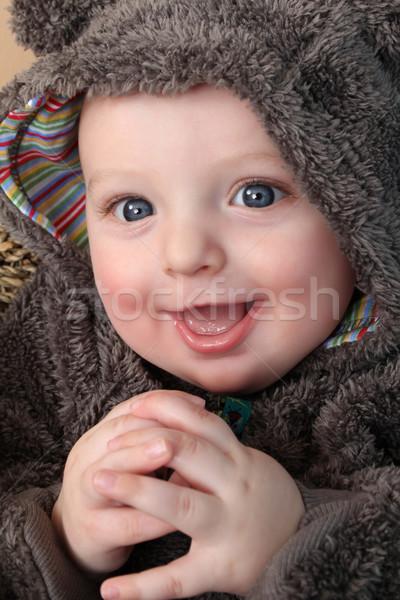 несут костюм ребенка четыре месяц старые Сток-фото © vanessavr