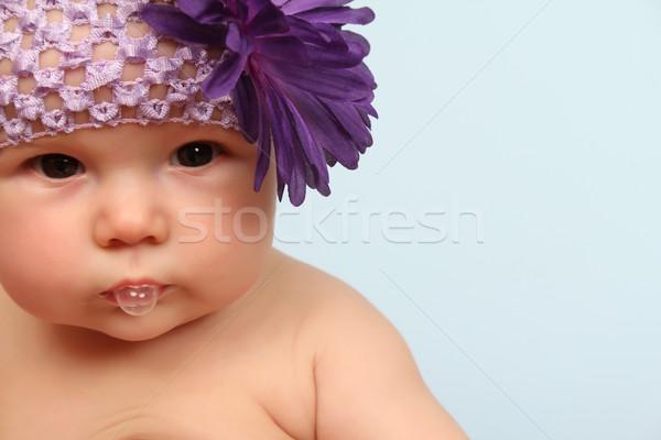 красивой цветы модель Сток-фото © vanessavr