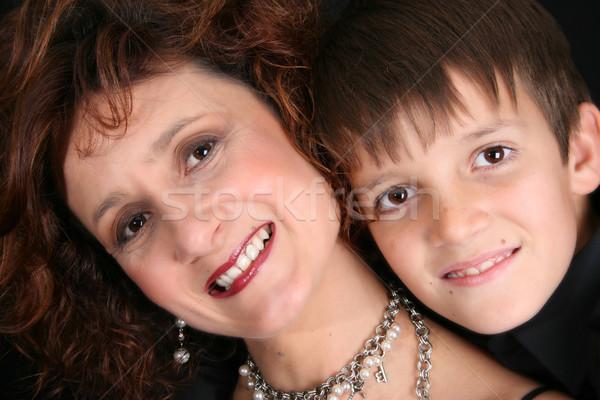 матери сын богатых формальный Сток-фото © vanessavr