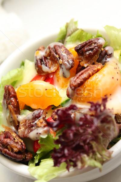 Салат оранжевый Приправа для салата овощей Сток-фото © vanessavr