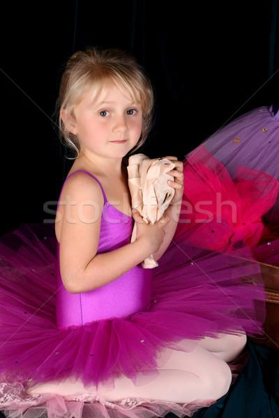 мечтатель девочку девушки Dance ребенка Сток-фото © vanessavr