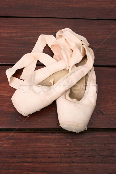 Ballet Shoes Stock photo © vanessavr