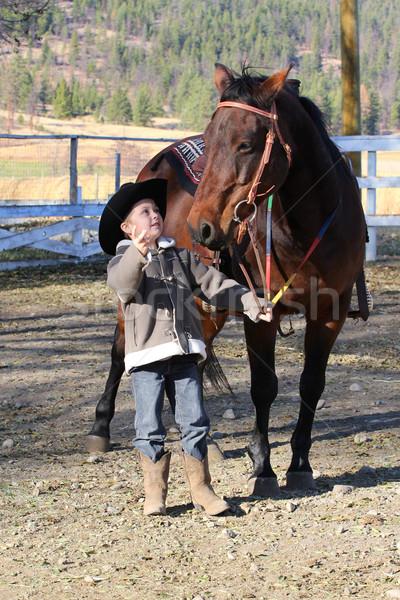 Cowboy Stock photo © vanessavr
