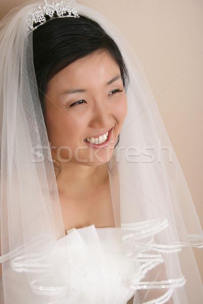 ストックフォト: 美しい · 花嫁 · 着用 · 伝統的な · 美