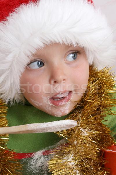 Рождества Cookies Hat Сток-фото © vanessavr