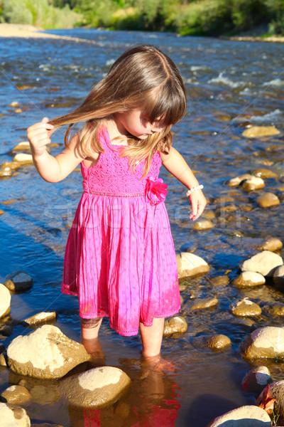 Outdoor girl Stock photo © vanessavr