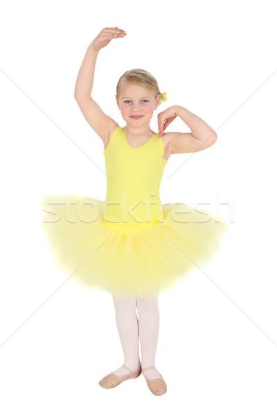 Ballet Girl Stock photo © vanessavr