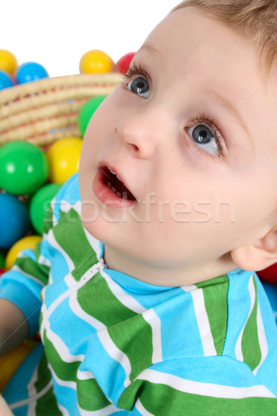 Ball boy Stock photo © vanessavr