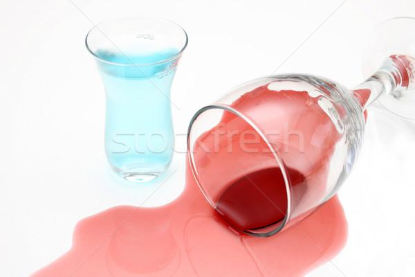 Spilled Wine Stock photo © vanessavr