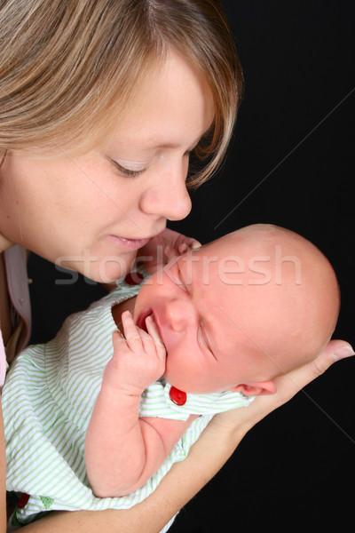ребенка красивой матери девушки Сток-фото © vanessavr