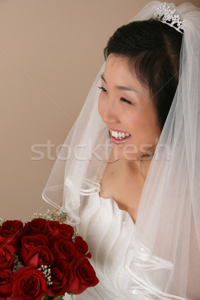 Korean Bride Stock photo © vanessavr