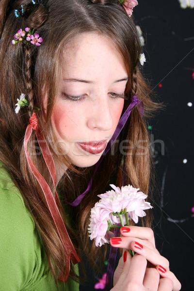 Flower Girl Stock photo © vanessavr